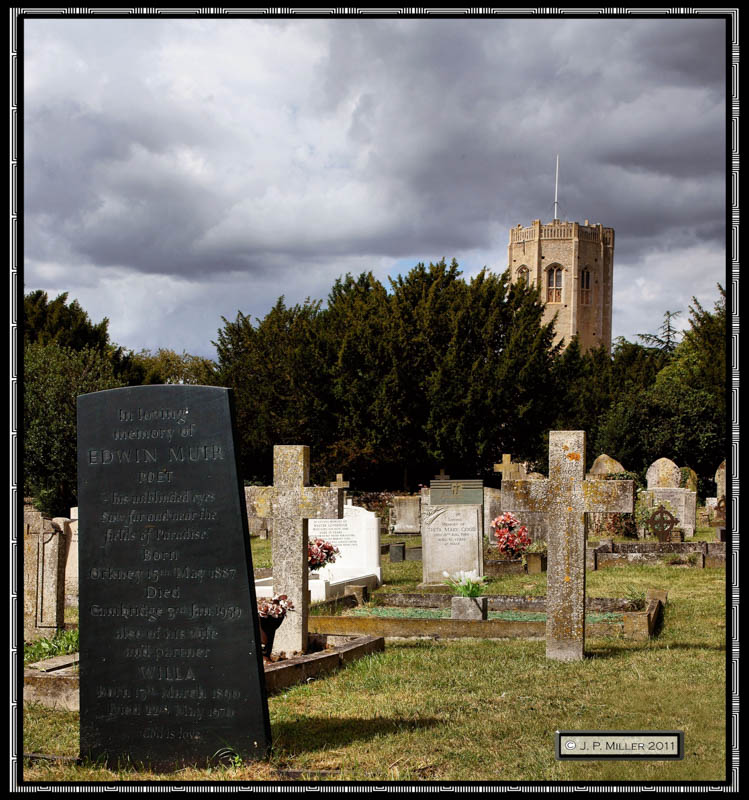Ewin Muir' Last Resting Place