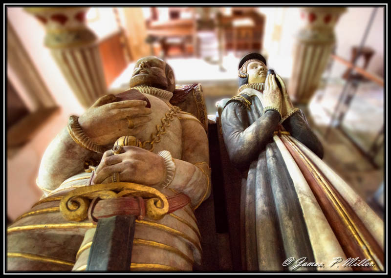 Sir Thomas St Paul and Wife