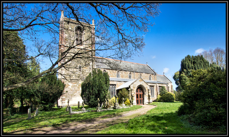 St Helenas's Church Willoughby Lincolnshire