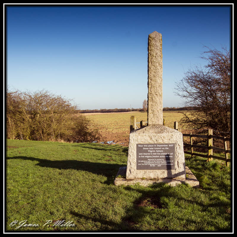 Pilgrim Fathers Monument  The Haven Lincolnshire