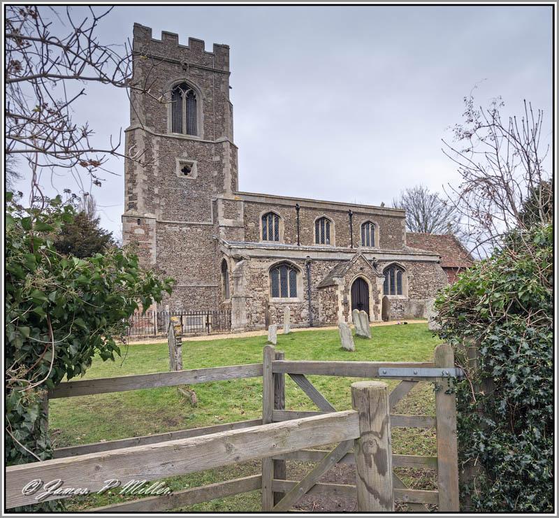 All Saints Church, Offord Cluny,