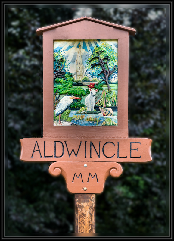 Aldwincle Village Sign