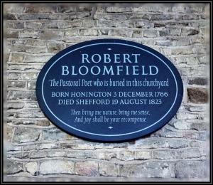 Campton  Last Resting Place Robert Bloomfield