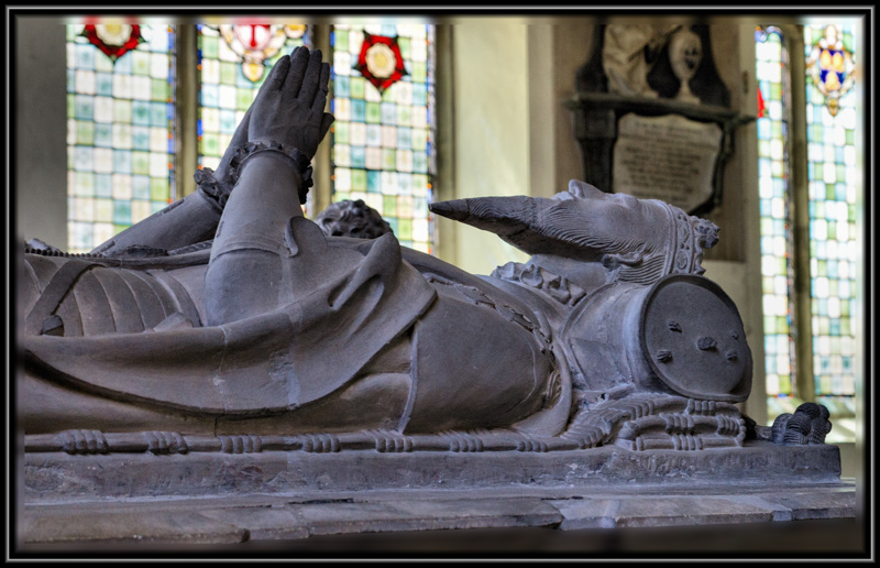 The Last Resting Place of The Third Duke of Norfolk, The Church of St Michael, Framlingham, Suffolk Henry Howard's Father who outlived his son thanks to dear old Henry VIII