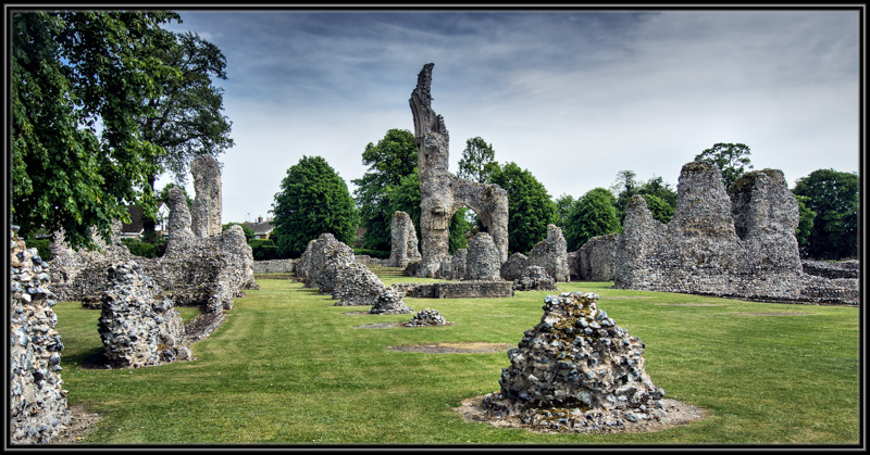 The Ruins of Thetford Priory