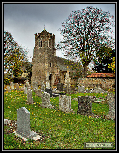 The Church of St Peter ad Vincula Coveney Cambridgeshire