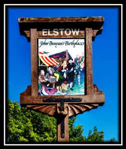 Elstow Village Sign