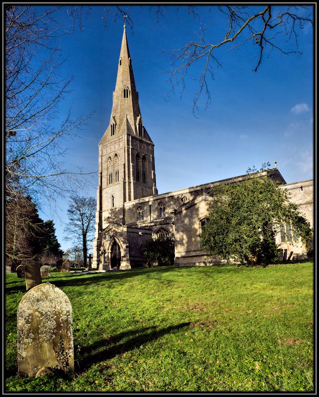 The Church of St John the Baptist Keyston