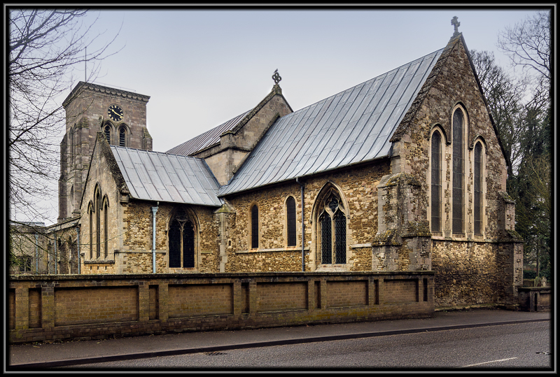 Holy Trinity Church Haddenham Cambridgeshire