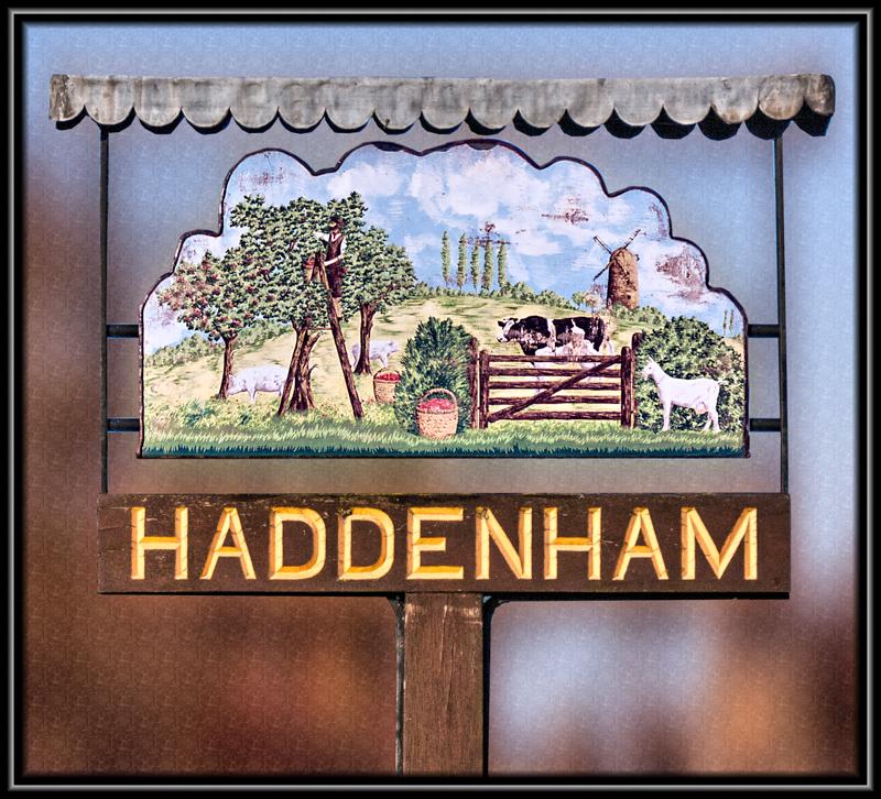 Village Sign Haddenham Cambridgeshire
