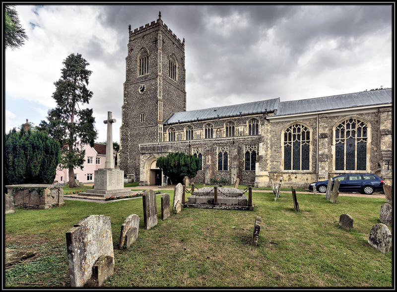 St Michael the Archangel Church, Framlingham, Suffolk, England