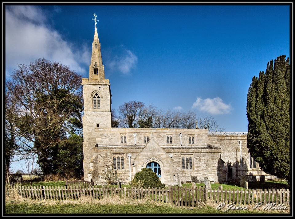 St Andrews Church, Steeple GIdding