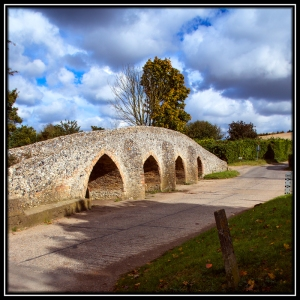 Packhorse Bridge, Moulton, Suffolk