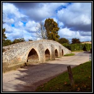 Packhorse Bridge, Moulton, Suffolk