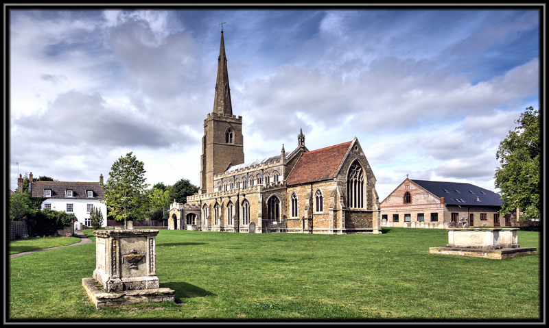 Saint Wendreda's Church, March,