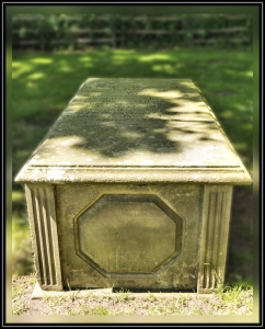 The Grave of Alfred's Father the Rev George Clayton Tennyson