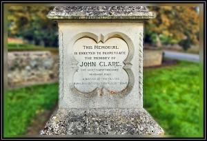 John Clare Memorial, Helpston,