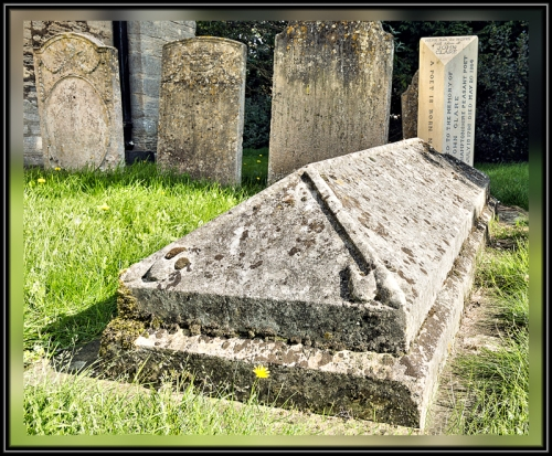 John Clare's Last Resting Place, Helpston, Cambridgeshire, England