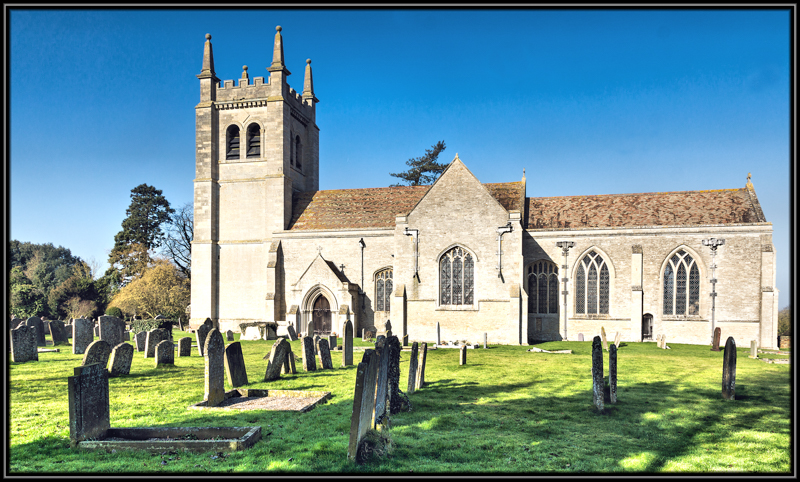 St Mary's Church, Leighton Bromswold, Huntingdonshire
