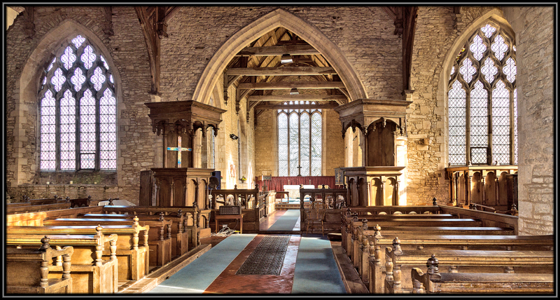 St Mary's Church, Leighton Bromswold, Huntingdonshire.