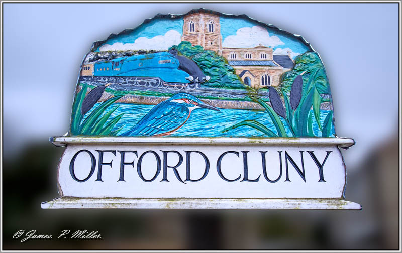 Offord Cluny, Village Sign