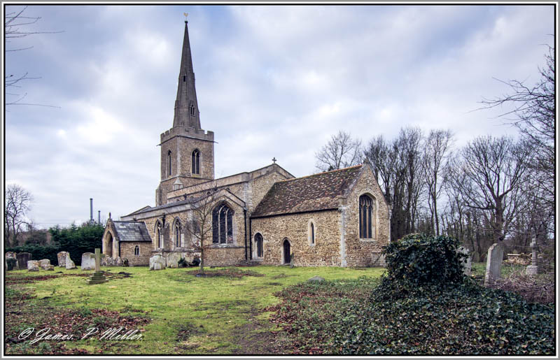 St Peters Church, Offord D'Arcy