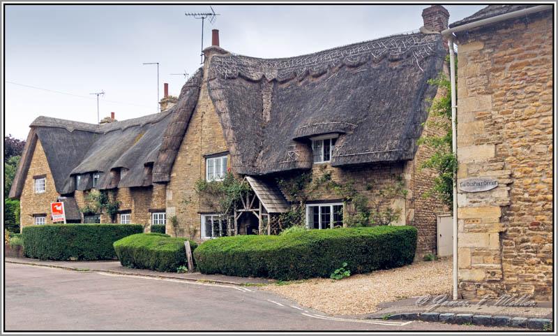 Apethorpe Village, Apethorpe, Northamptonshire, England.