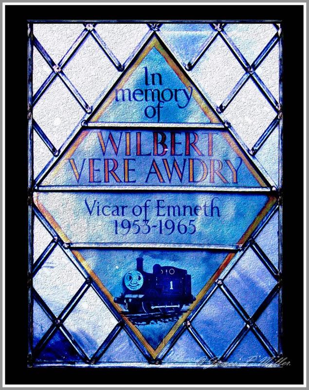 Memorial Window to The Reverend W. V. Awdry