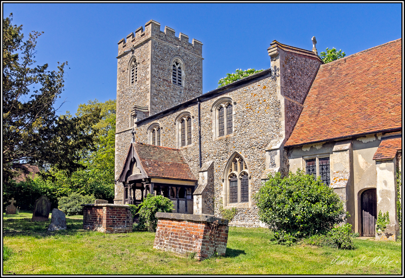 Holy Trinity, Boxted, Suffolk