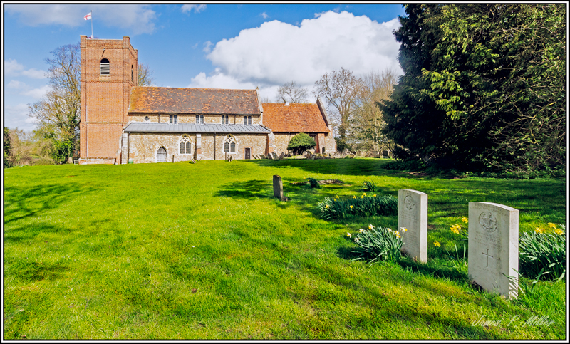 The Church of St Margaret of Antioch, Cowlinge, Suffolk