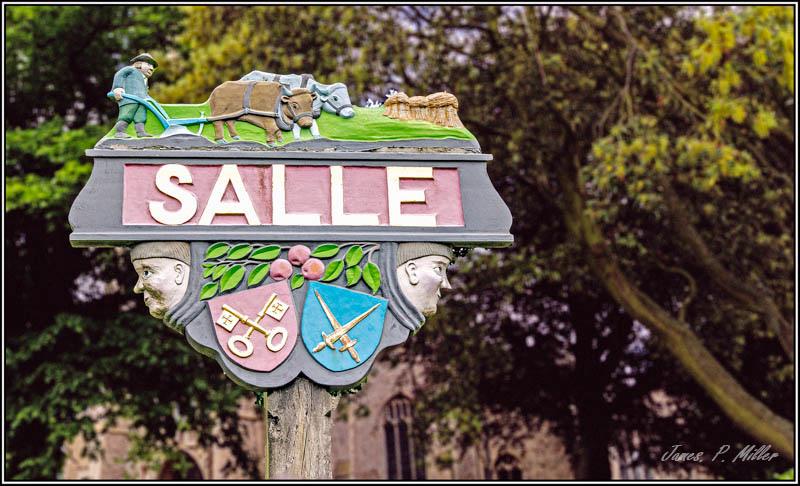 Salle Village Sign, Salle, Norfolk