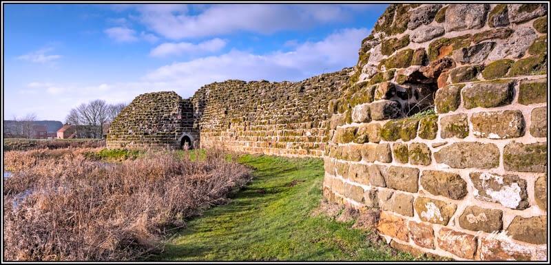 Bolingbroke Castle Walls, Lincolnshire
