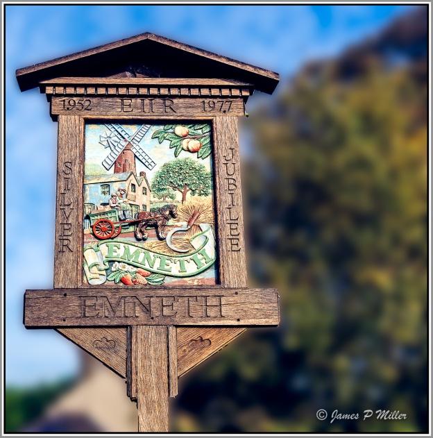 Emneth Village Sign, Norfolk