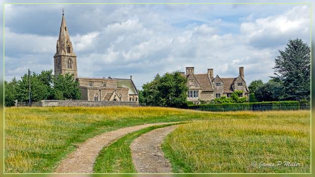 St Mary and All Saints Church Beside Pilton Manor House